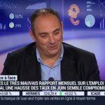Olivier Delamarche sur BFM Business-06/06/16: 1/3 de la population américaine est sans emploi !, …. C'est ça la reprise ?