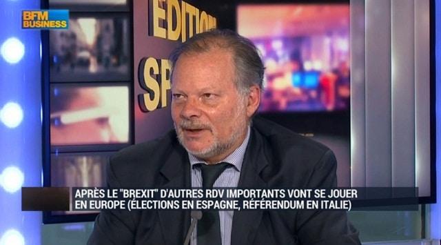"""Philippe Béchade: Brexit: """"La volatilité sur la livre sterling est terrible !"""""""
