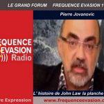 Pierre Jovanovic sur Fréquence Evasion: la planche à billets ou l'histoire de john Law