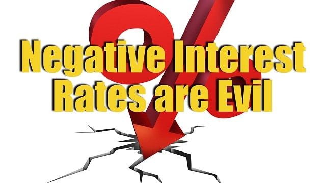 La Banque centrale anglaise envisage le recours aux taux négatifs !