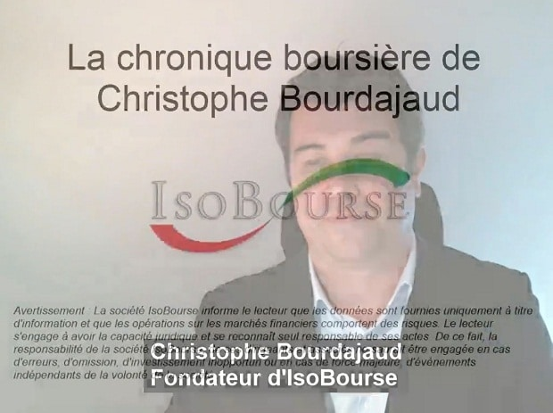 Isobourse: La chronique boursière de Christophe Bourdajaud – S03/2017