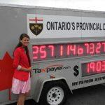 Canada: Ontario: la dette atteindra 350 milliards de dollars