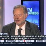 Philippe Béchade: les actions n'ont jamais été aussi chères aujourd'hui que depuis la bulle internet en 2000