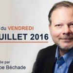 Philippe Béchade: Séance du Vendredi 1er Juillet 2016: Goûtons les délices de l'anti-krach obligataire