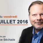 """Philippe Béchade: Séance du Vendredi 29 Juillet 2016: """"Frisson d'horreur, frisson de bonheur"""""""