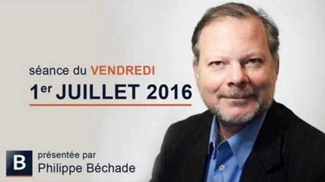 Philippe Béchade: Séance du Vendredi 1er Juillet 2016: Goûtons les délices de l