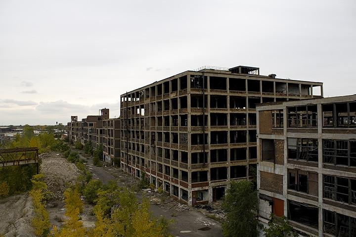 Etats-Unis: Detroit ... De la splendeur à la décadence. Détroit n