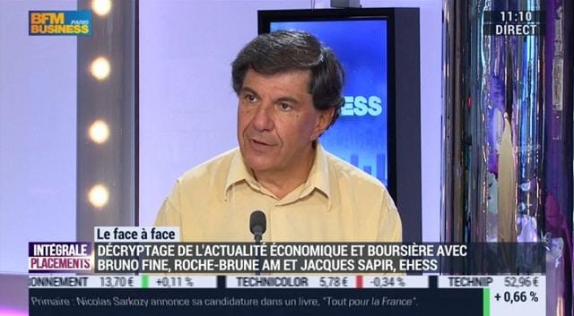 """Jacques Sapir: """"A la rentrée de septembre et d"""
