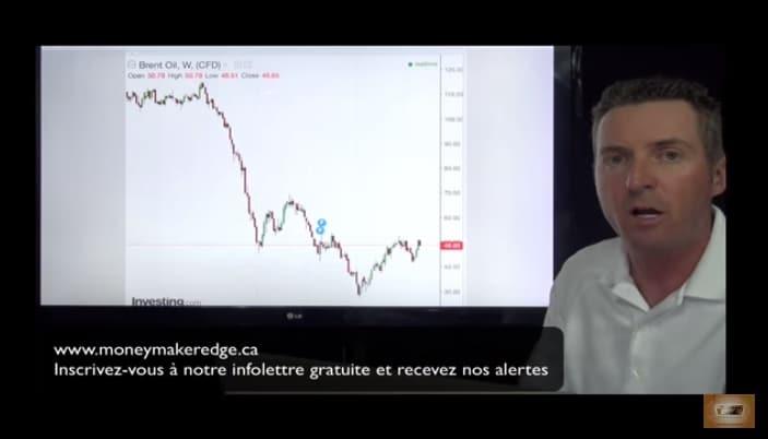Martin Prescott: Pétrole: On a toujours la capacité de revenir à 30 $ le baril dans les prochains mois, voire à 22 $