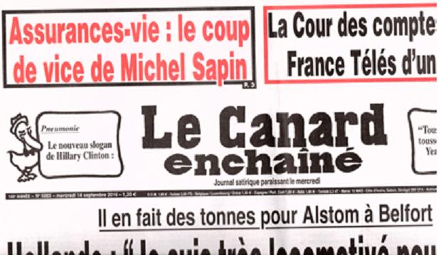Charles Sannat: Assurance vie ! Même le Canard Enchaîné a compris et met en garde ses lecteurs !!