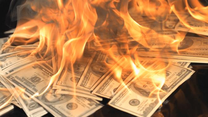 J'ai personnellement été témoin de la destruction de la monnaie