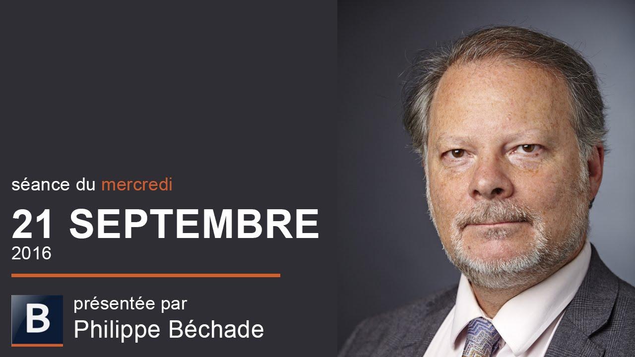"""Philippe Béchade: Séance du Mercredi 21 Septembre 2016: """"Bank of Japan, girafes et cocottes en papier"""""""