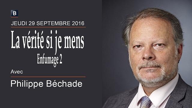 """Philippe Béchade: Séance du Jeudi 29 Septembre 2016: """"La Vérité si je mens ou Enfumage 2"""""""
