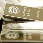 Le platine: «l'or des riches» va-t-il briller de nouveau ?
