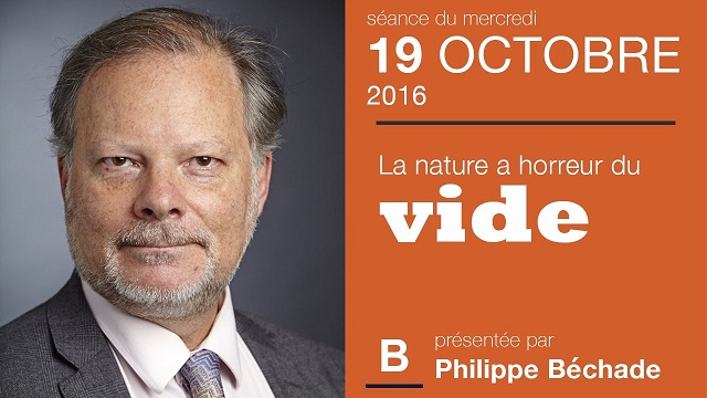"""Philippe Béchade: Séance du Mercredi 19 Octobre 2016: """"La nature a horreur du vide"""""""