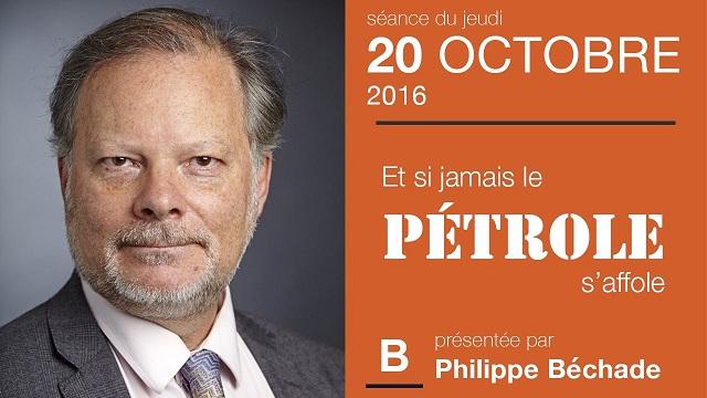 """Philippe Béchade: Séance du Jeudi 20 Octobre 2016: """"Et si jamais le pétrole s"""