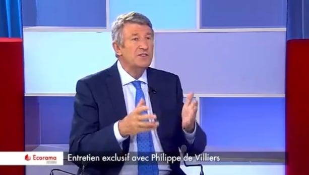 """Philippe de Villiers: """"Nous sommes devenus les esclaves de l"""