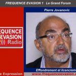 Pierre Jovanovic sur Fréquence Evasion: Effondrement et licenciements – Questions diverses sur l'actualité