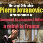 Pierre Jovanovic: «Les banques se foutent de vous»