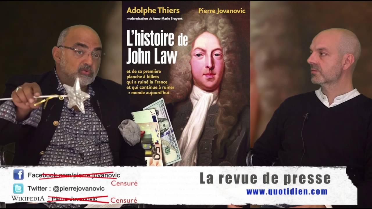 Pierre Jovanovic et Laurent Fendt: La revue de presse (Octobre 2016)