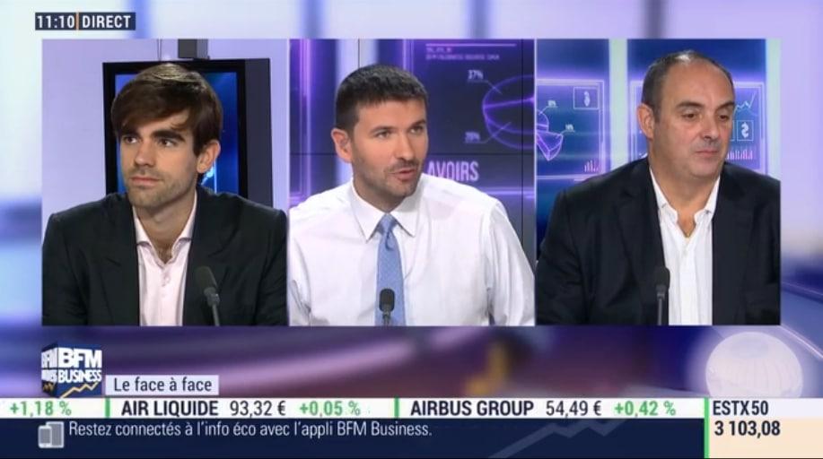 Olivier Delamarche et Pierre Sabatier le 24 Octobre 2016: on essaie de faire croire que tout va bien, or c