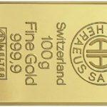 1971: 100$ permettaient d'acheter un lingot d'Or de 100g – 2016: ces 100$ permettent d'acheter 3g de ce même lingot