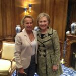"""Christine Ockrent: """"Je suis convaincue qu'Hillary Clinton va devenir le 45ème président des Etats-Unis"""""""