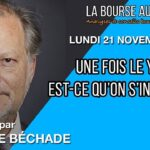 """Philippe Béchade: Séance du Lundi 21 Novembre 2016: """"Et une fois le yuan à 7, est-ce qu'on s'inquiète ?"""""""