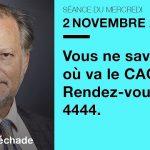 """Philippe Béchade: Séance du Mercredi 02 Novembre 2016: """"Vous ne savez pas où va le CAC ? Rendez-vous à 4444."""""""