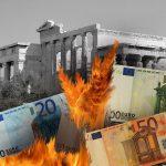 La Grèce est aujourd'hui écrasée par une montagne de dettes qui atteint 180% de son PIB