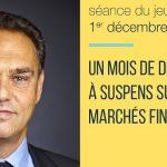 Eric Lewin: «Un mois de décembre à suspens sur les marchés financiers»… Italie, taux, BCE, FED…