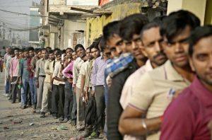 india-bank-queue