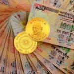 La guerre de l'Inde contre l'argent liquide et l'or