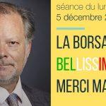 P. Béchade: Séance du 05/12/16: La Borsa bellissima ! Merci Matteo !… Plus ça va mal et plus les indices montent !