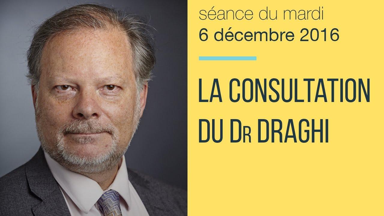 """Philippe Béchade: Séance du Mardi 06 Décembre 2016: """"La consultation du Dr Draghi"""""""