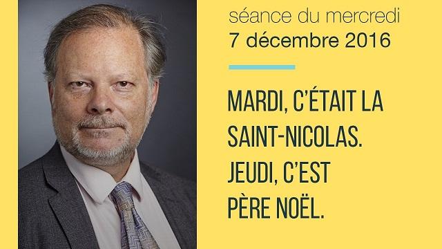 """Philippe Béchade: Séance du Mercredi 07 Décembre 2016: """"Mardi, c"""