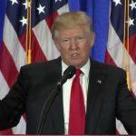 Trump confirme lors de sa dernière conférence que 96 millions d'américains sont sans emploi