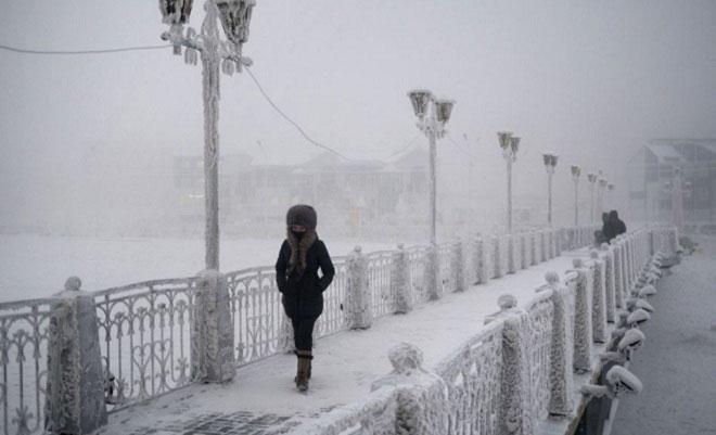 Jusqu'à -71,2 degrés. Bienvenue à Oïmiakon, le village le plus froid au monde