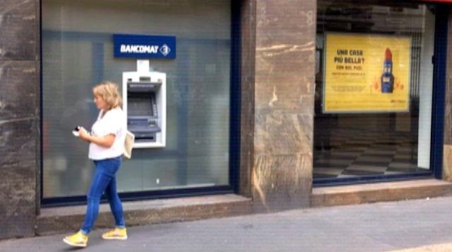En Italie, la crise bancaire se ressent dans chaque rue