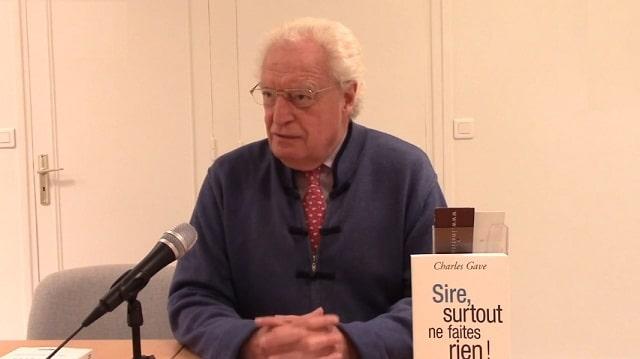 """Charles Gave: """"Il n'y a plus de liberté de la presse"""""""