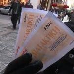 Des centaines de milliers de salariés grecs sont désormais payés, en partie, avec des coupons alimentaires.