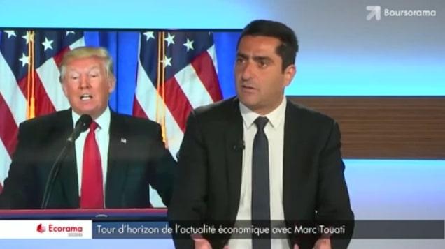 """Marc Touati: """"Avec Trump: ça passe ou ça casse, on sera fixé cette année !"""""""
