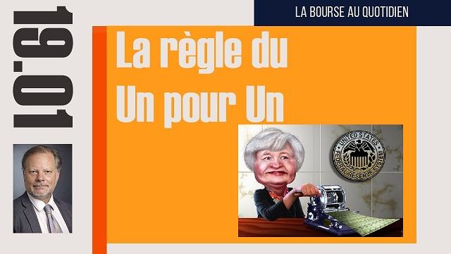 """Philippe Béchade: Séance du 19/01/17: """"La règle du un pour un, 1 point de Dow Jones pour 1 milliard de dettes"""""""