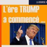 Philippe Béchade: Séance du Lundi 23 Janvier 2017: «L'ère TRUMP a commencé …»