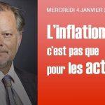 """Philippe Béchade: Séance du Mercredi 04 Janvier 2017: """"L'inflation, pas que pour les actions"""""""