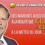 Philippe Béchade: Séance du jeudi 05 Janvier 2017: «Des marchés aussi connectés à la réalité que Clash of Clans»