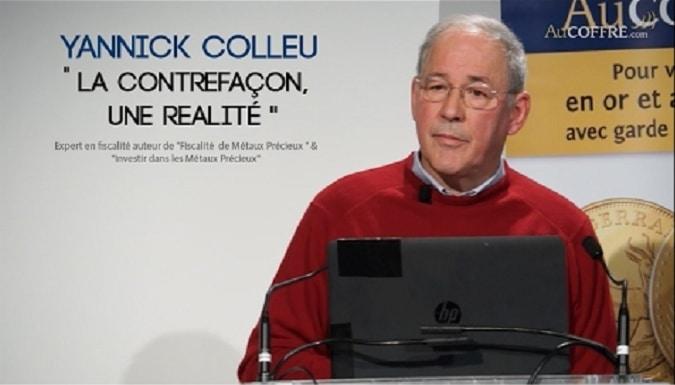YANNICK COLLEU - Métaux précieux: La Contrefaçon, une Réalité