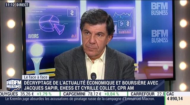 """J. Sapir: Elections: """"les investisseurs ne savent plus à quoi s"""