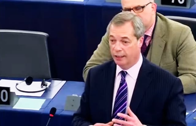 "Nigel Farage: ""L"