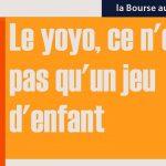 Philippe Béchade: Séance du Mercredi 1er Février 2017: Le yoyo, ce n'est pas qu'un jeu d'enfant